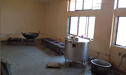 View of Kitchen for preparing Prasadam for devotees,